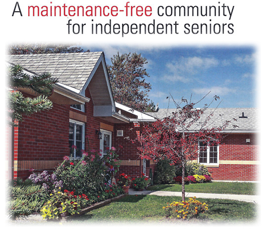 Glen Garden Village, Maintenance Free Living