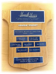 Maxville Manor Foundation Board of Directors