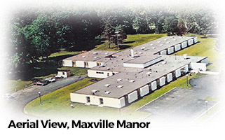 Arial View, Maxville Manor